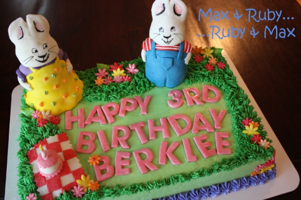 Max and Ruby Cake
