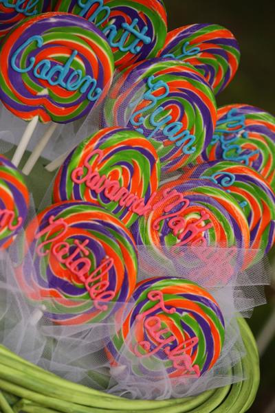 Personalized Lollipops
