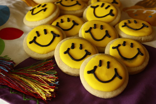 Smily Face Cookies