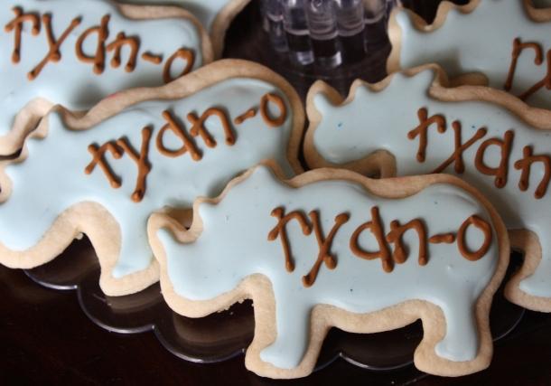 """Ryan """"Rhino"""" Cookies"""