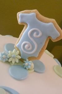 Monogrammed Cookie